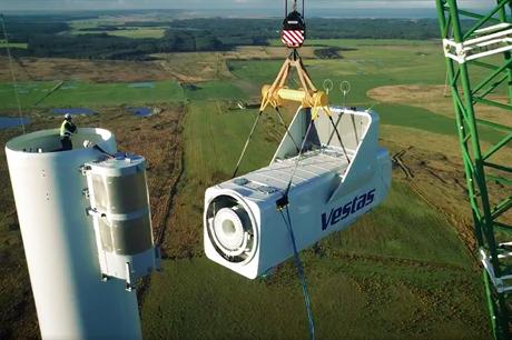 Vestas installs First V150-4.2MW Turbine