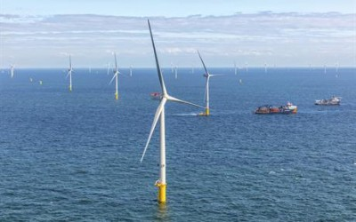 The 731.5MW Borssele III & IV Wind Farm has supplied its First Power, and is Due to be Fully Online by October 2020