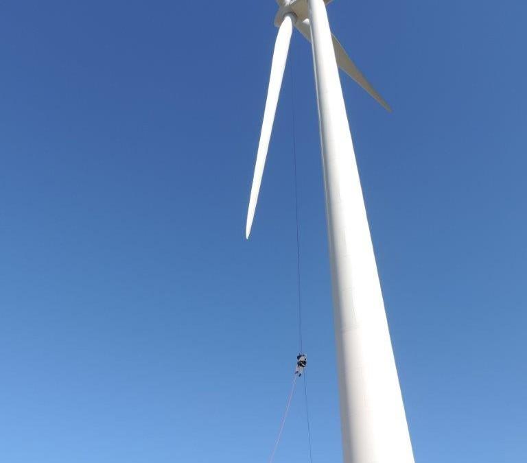Η Evolution Green Energy σε εργασίες Rope Access.
